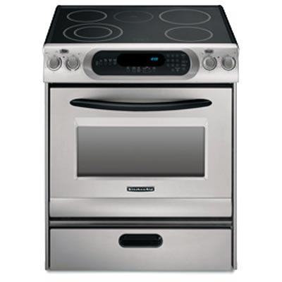 Genial Kitchenaid Electric Range Ykers807ss Images